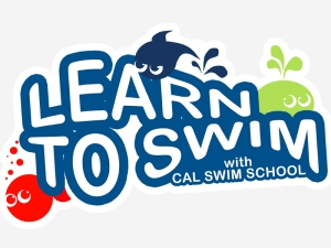Learn to Swim with CAL logo
